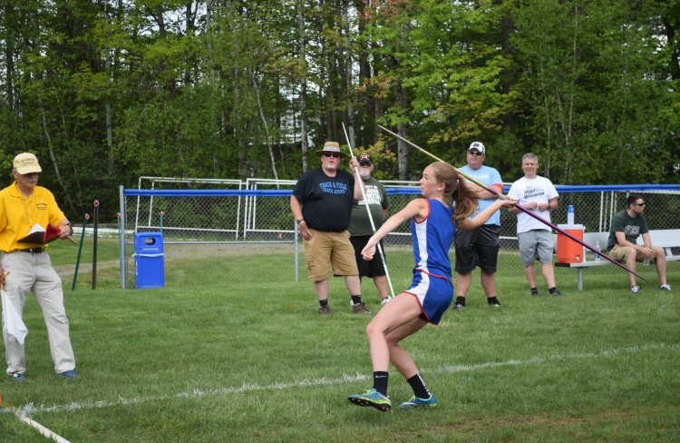 In addition to soccer, Durand plays basketball and participates in track and field, throwing the javelin and competing in the long jump.