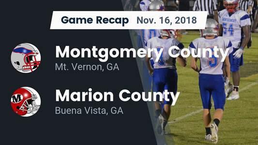 Marion County High School (Buena Vista, GA) Football