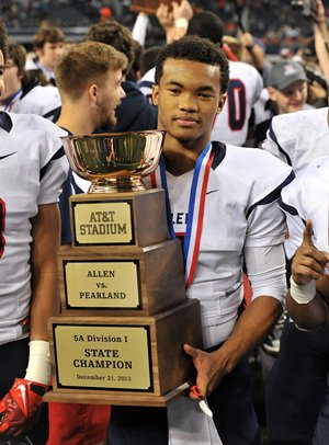 Kyler Murray is only a junior, so he should be backnext year for another shot at a state title.