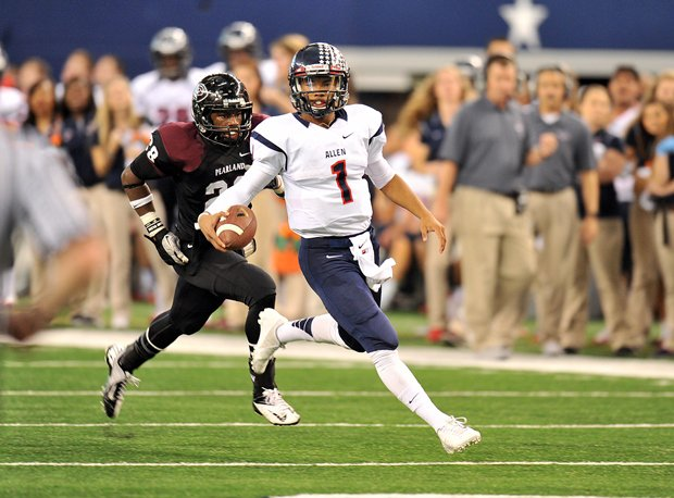 Kyler Murray led Allen to a Texas state title Friday, and a legitimate reason to be chosen as a national champion.