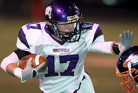 Fayetteville won the 2011 7A state title.