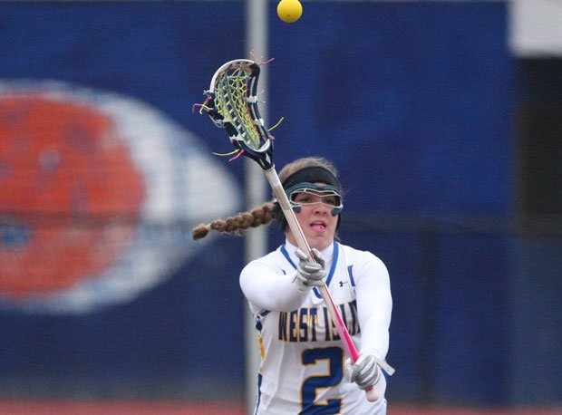 Lena Riportella helped West Islip win a state title with a late goal.