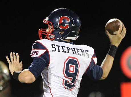 Campolindo quarterback Brett Stephens hopes to lead the No. 12 Cougars back to the Home Depot Center in Carson.