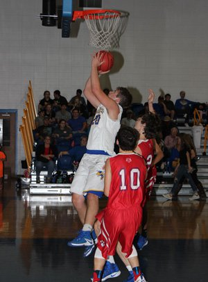 Isbell made the jump to varsity basketball as a sophomore.