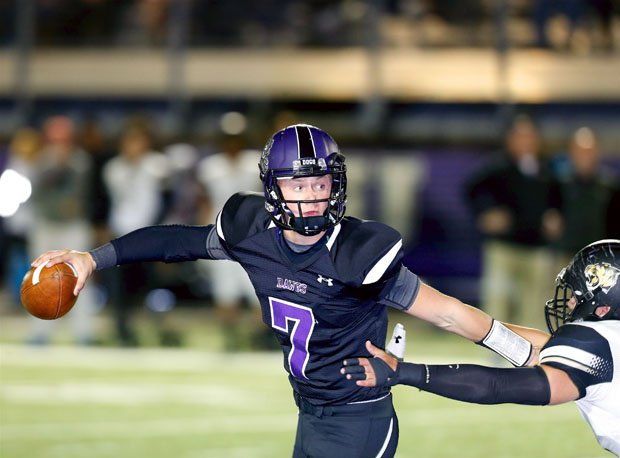 Fayetteville third-year starting quarterback Taylor Powell returns to lead the Bulldogs toward another state 7A title.