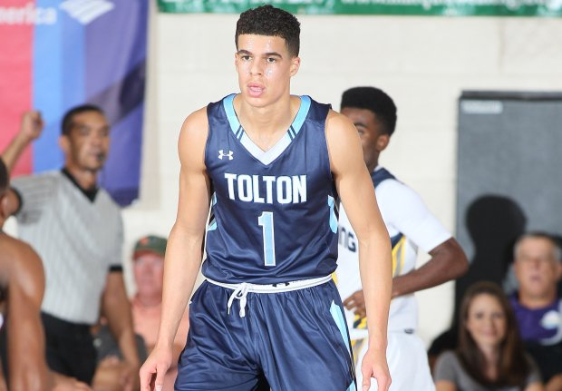 Michael Porter and brother Jontay led Father Tolton to a state title last season in Missouri.