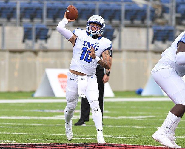 IMG quarterback AJ Duffy