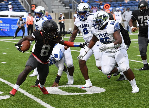 The IMG Academy defense was relentless Sunday in their 58-0 shutout win over Bishop Sycamore.