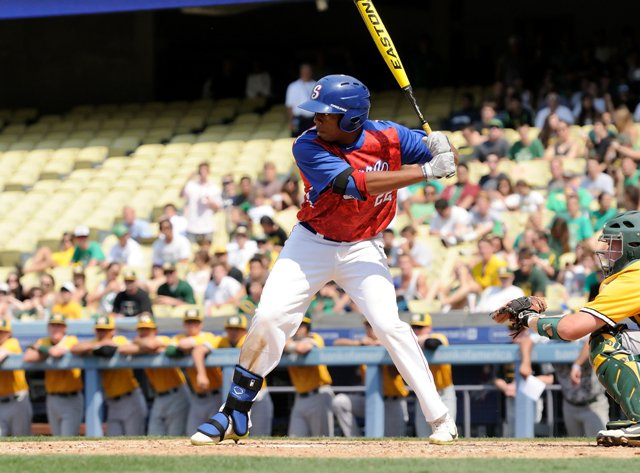 Serra slugger Dominic Smith is the MaxPreps Medium Schools Baseball Player of the Year after leading his team to a Southern Section title and a No. 45 national computer rankings spot. He was drafted by the New York Mets.