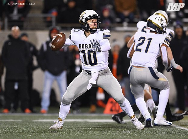 Archbishop Hoban (Akron) quarterback Shane Hamm (2021) has led the Knights to two state titles.