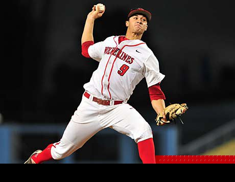 Jack Flaherty racked up 112 strikeouts while posting a perfect 13-0 record in leading Harvard-Westlake to the CIF Southern Section Division I title. For his accomplishments, he has been named Maxpreps National Baseball Player of the Year.