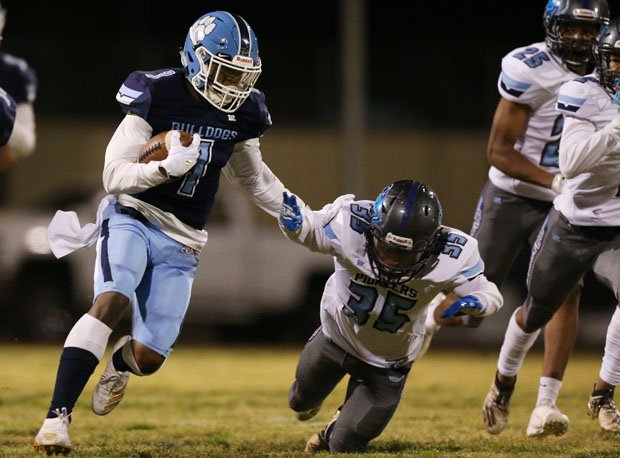 Centennial senior Jordan Smith ran for more than 1,800 yards and 24 touchdowns.