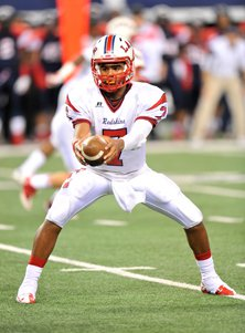 Lamar quarterback Darrell Colbert  accounted for 333 yards and three touchdowns.