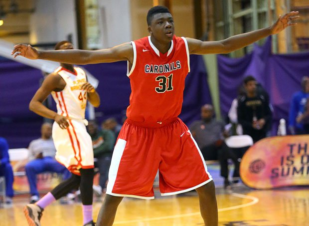 Syracuse and West Virginia are viewed as the leaders in Thomas Bryant's recruitment, according to 247Sports.com's famed Crystal Ball.