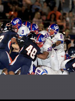 Serra and Chaminade could meet up in theWestern Division title game in a rematchsituation.