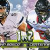 Game preview: No. 1 St. John Bosco vs. No. 2 Corona Centennial swelling with intrigue thumbnail