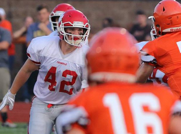 Trimble senior linebacker Sawyer Koons is the reigning OPSWA Division VII Ohio Defensive Player of the Year.