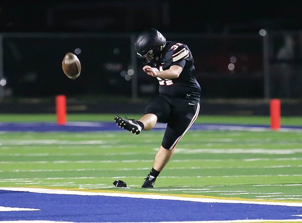 Jonathan Alder kicker Dylan Moore was named OPSWA All-Ohio last year.