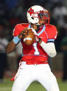 Skyline's Devante Kincade totaled 304 yards of offense in the loss.