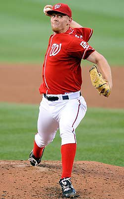 Stephen Strasburg of the Washington Nationals.