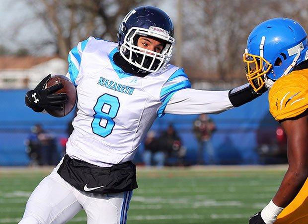 Tyler Morris, Nazareth Academy receiver