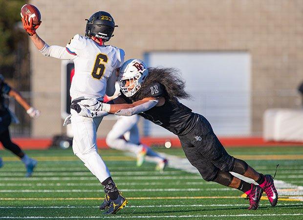 Dishawn Misa, Eastside Catholic linebacker