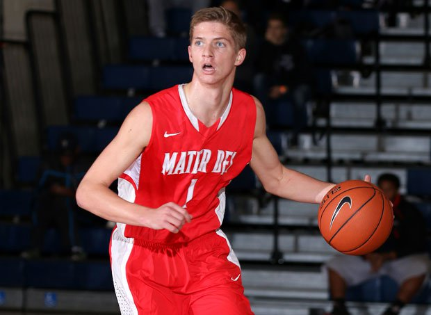 Stanley Johnson is the ringleader for No. 1 Mater Dei, but junior transfer Rex Pflueger (pictured) is beginning to find his groove with the Monarchs as well. Pflueger poured in 30 points Monday in a win at the Spalding Hoophall Classic over Neumann-Goretti.