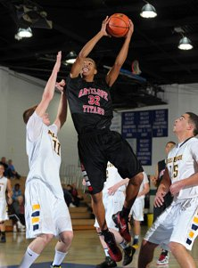 Antelope's Gabe Bealer dominated with 26 points in a tough victory over Bellevue on Wednesday.