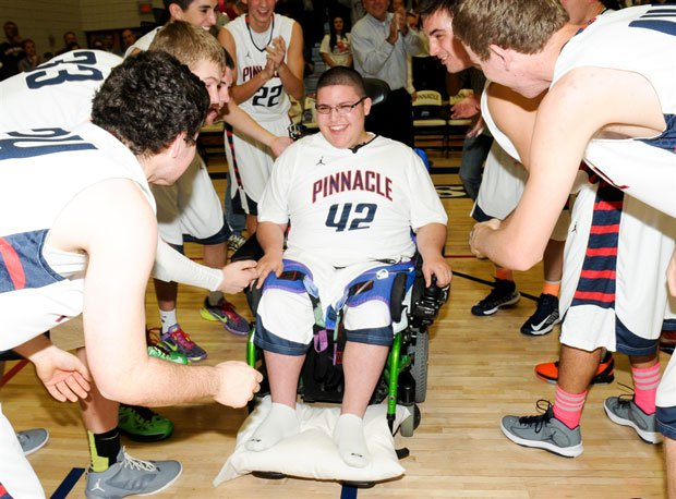 Brandon Wechsler earned a spot in Pinnacle's starting lineup Friday night – which isn't easy to do. The Pioneers were 30-4 last season and are 16-6 this season behind Division I recruits Dorian Pickens and Drew Bender.