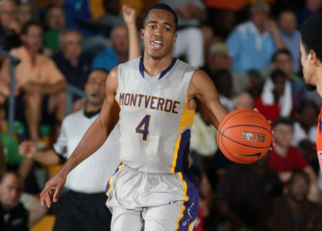 Florida-bound point guard Kasey Hill scored 13 points and handed out five assists while locking down Jabari Parker as Montverde Academy dominated Simeon at the Cancer Research Classic in West Virginia on Saturday night.