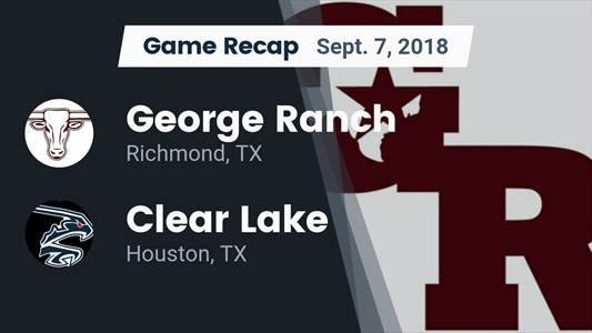 Football Game Recap: Texas City vs. Clear Lake