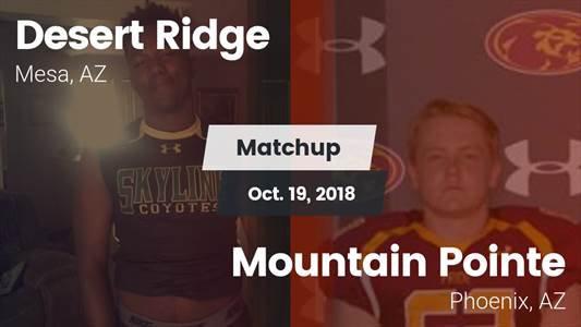 Football Game Recap: Mountain Pointe vs. Desert Ridge