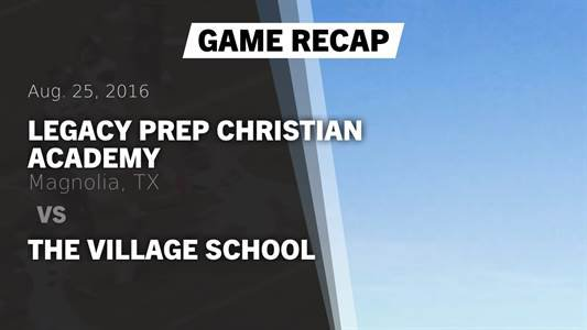 Football Game Preview: Legacy Prep Christian Academy vs. Brazos Christian