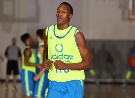 Breakout five-star prospect Myles Turner is expected to join Euless Trinity at the State Farm Tournament of Champions in late November.