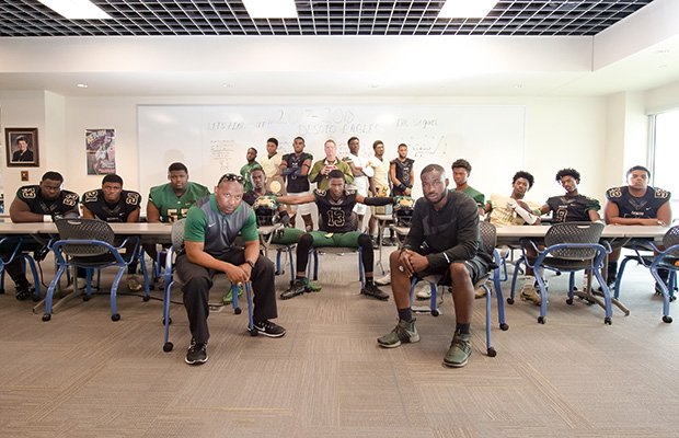 DeSoto's dream season in 2016 included an undefeated record and state title.