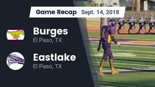 Football Game Recap: Socorro vs. Burges