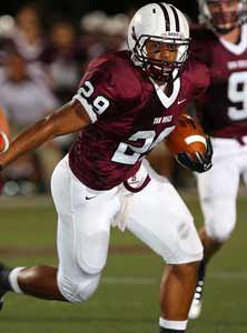 John Wilkins led Bosco's ground game with 23 carries for 114 yards and two scores.