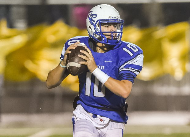 Chase Allison accounted for seven touchdowns in Robinson's 70-68 win over Lampasas in Texas.
