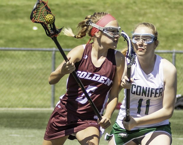 Landree McClure is making a name for herself playing lacrosse at Golden. In addition to being a standout athlete, she's a stellar student and battles diabetes.