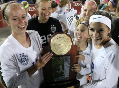 Grandview became the first Class 5A girls soccer team to repeat as state champions since Heritage in 1991-92. The Wolves' title capped a stellar school year in Colorado girls sports.