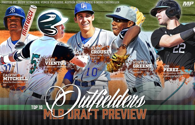Potential first round draft picks include Calvin Mitchell, Mark Vientos, Hans Crouse, Hunter Greene and Joe Perez.