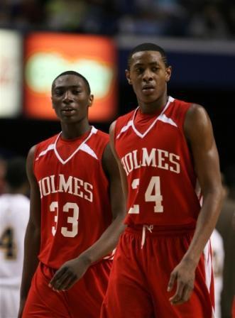 Elijah Pittman and Ricardo Johnson, Holmes