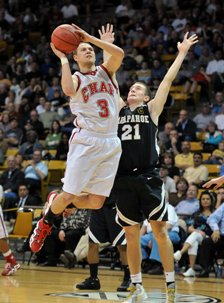 Cory Calvert of Chaparral scored 17 points in the title game.