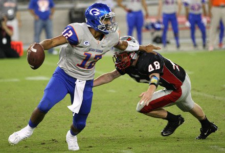 Bishop Gorman quarterback Jarrett Solomon is the first junior to ever be selected to the Under-19 national team.