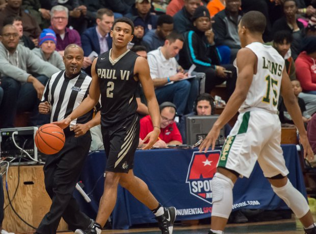 Pittsburgh signee Aaron Thompson and No. 13 Paul VI will meet No. 12 Gonzaga for the Washington Catholic Athletic Conference tournament title Monday night.