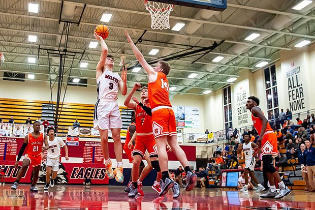 All Georgia high school basketball games will be played with a shot clock by 2022-23.