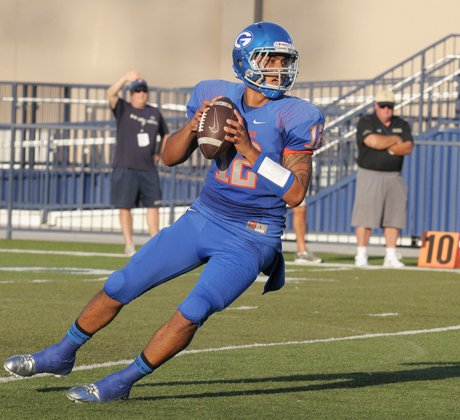 Gorman senior Anu Solomon is 45-2 as a starter and has thrown for 107 touchdowns and 13 interceptions in his career.