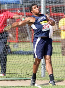 Cochran is the defending state champion in the discus.
