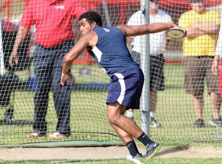 Ethan Cochran is the only discus thrower in the country to go further than 200 feet.