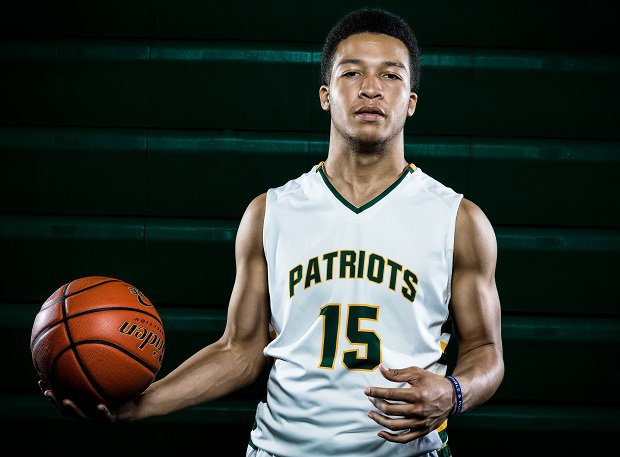 Jalen Brunson is among 20 players who have an opportunity to join an elite list of players who've won basketball titles in high school, college and the NBA